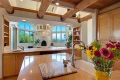 Southwest style kitchen Royalty Free Stock Photography
