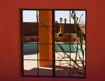 Southwest Window View Stock Photo