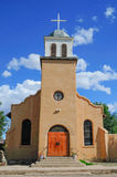 Southwestern adobe church Royalty Free Stock Images