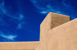 Southwestern architecture adobe design feature Royalty Free Stock Photography