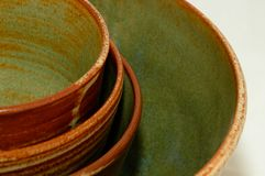 Southwestern bowls Royalty Free Stock Photography