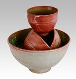 Southwestern bowls Royalty Free Stock Image