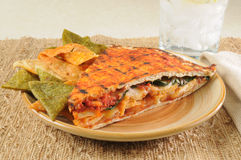Southwestern chicken panini Stock Photography
