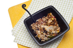 Southwestern Chicken and Whole Grains Stock Photos