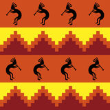Southwestern Design. Background southwestern design in warm colors Stock Photography