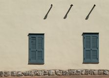 Simple Southwestern architecture stock image
