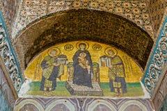 Southwestern entrance mosaic stock photos