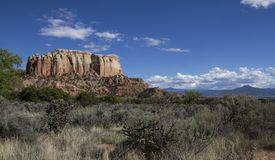 Southwestern high desert landscape daytime Stock Photos