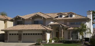 Southwestern home Stock Photography