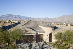 Southwestern houses Stock Photo