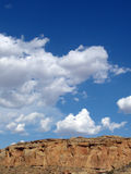 Southwestern Landscape. Sandstone cliffs and sky Royalty Free Stock Photos