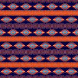 Southwestern navajo ethnic pattern royalty free stock photography