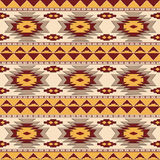 Southwestern navajo seamless pattern royalty free stock images