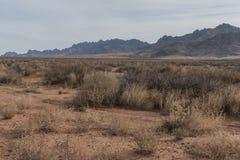 Southwestern New Mexico Florida mountains. stock photo