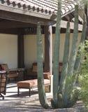 Southwestern patio Stock Photo