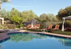 Southwestern Pool Royalty Free Stock Photos
