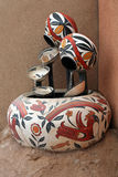 Southwestern Pottery Fountain Stock Photos