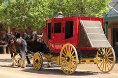 Southwestern Stage Coach royalty free stock photo