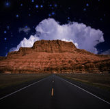 Southwestern USA Road Stock Image