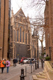 Southwick Cathederal. A large imposing structure found here in the heart of London, England stock image