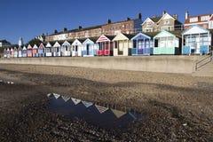 Southwold沿海岸区,萨福克,英国 库存图片
