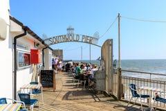 Southwold码头,萨福克,英国 免版税库存照片