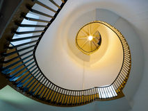 SOUTHWOLD, SUFFOLK/UK - 6月11日:在Lighth的螺旋形楼梯 免版税库存图片