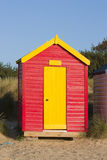 Southwold beach hut Stock Photos