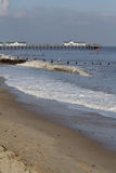 Southwold Beach and Pier Royalty Free Stock Photo