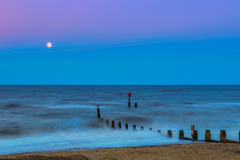 Southwold Beach at Sunset Royalty Free Stock Photography