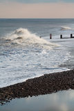 Southwold beach, Winter. Royalty Free Stock Images