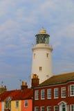 Southwold Lighthouse - Closeup royalty free stock photo