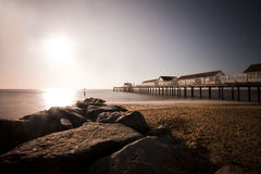 Southwold Pier Stockfotos