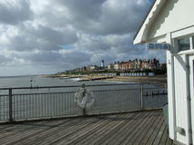 Southwold from the pier Royalty Free Stock Photos