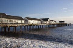 Southwold Pier, Suffolk, England Royalty Free Stock Photo