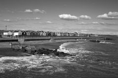 Southwold Sea Front, Suffolk, England Royalty Free Stock Photo