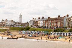 Southwold seafront stock photos