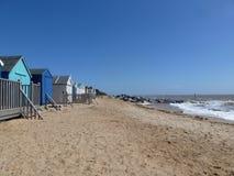 Southwold strand Royaltyfria Bilder