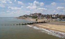 Southwold-Strand, Suffolk Großbritannien lizenzfreie stockfotografie