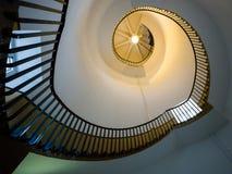 SOUTHWOLD, SUFFOLK/UK - 11-ОЕ ИЮНЯ: Винтовая лестница в Lighth Стоковая Фотография