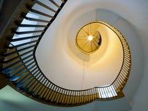 SOUTHWOLD, SUFFOLK/UK - 11-ОЕ ИЮНЯ: Винтовая лестница в Lighth Стоковое Изображение RF