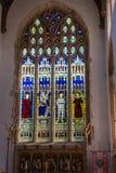 SOUTHWOLD, SUFFOLK/UK - 2 GIUGNO: Chiesa della st Edmund in Southwol fotografie stock