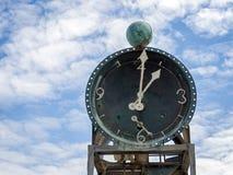 SOUTHWOLD, SUFFOLK/UK - 30 JUILLET : Plan rapproché de Pier Watercloc Image stock