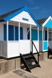 SOUTHWOLD, SUFFOLK/UK - JUNE 2 : Colourful Beach huts in Southwo Stock Image