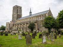 SOUTHWOLD, SUFFOLK/UK - JUNE 12 : View of St Edmund's Church in Royalty Free Stock Images