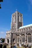 SOUTHWOLD, SUFFOLK/UK - 2 JUNI: Kerk van St Edmund in Southwol royalty-vrije stock foto's