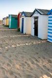 SOUTHWOLD, SUFFOLK/UK - 31 MAI : Huttes colorées de plage chez Southwo Photographie stock