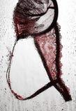 Soutien-gorge rouge Image stock