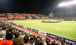 Soutient le jeu de ligue, Apoel Photo stock