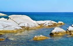Soutsini beach Kymi Euboea Greece Royalty Free Stock Image